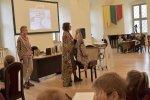Knygos ,,Sibiro haiku'' autorių viešnagė Vaikų literatūros skyriuje