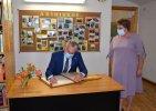 Bibliotekoje lankėsi Lietuvos Respublikos Prezidentas